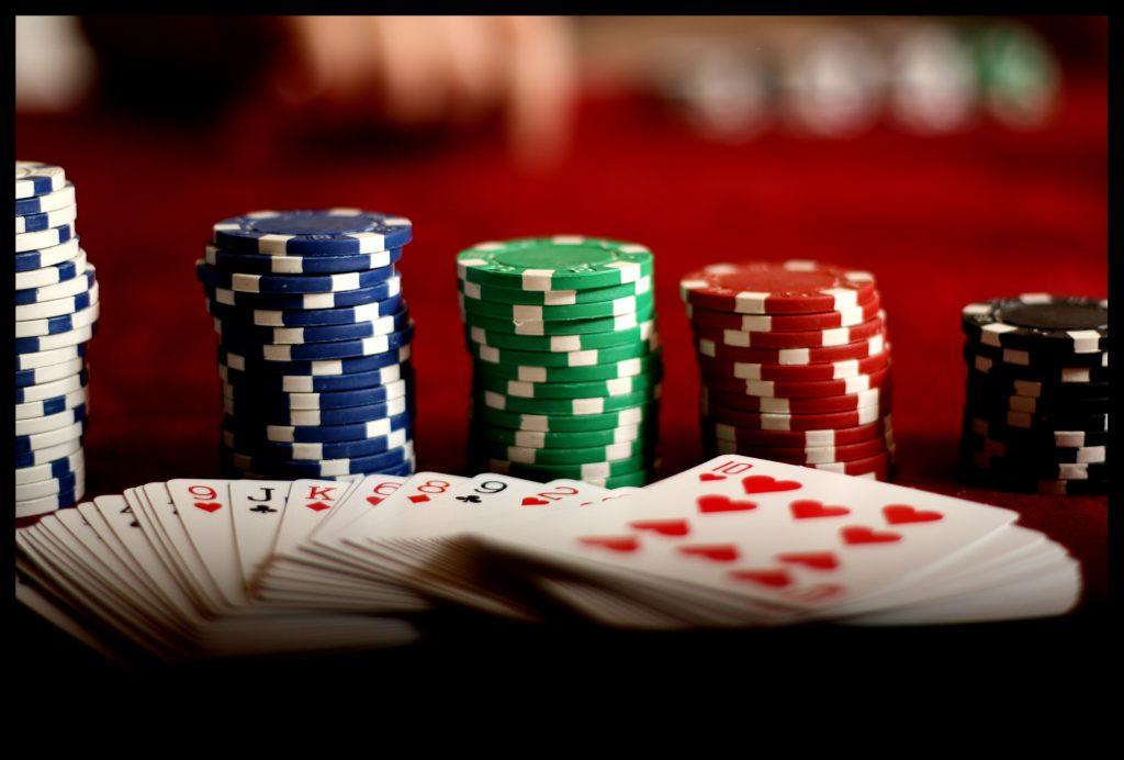 a poker stake
